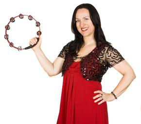 Andrea Camenzind, Sängerin mit Tanzband Voices And Music, Musikschullehrerin, Hochzeitssängerin, Hochzeitsband