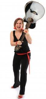 Barbara Burghart Saxofon Gesang Gitarre