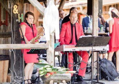 Musik zur Agape, Saxofon für Hintergrundmusik, Klavier, Voices And Music