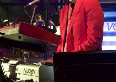Keyboard Christian Fürst on Stage