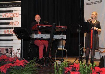 Duo Voices And Music beim Roten Kreuz