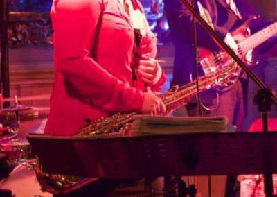 Helene Irauschek Gesang Saxofon