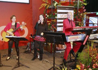 Messe Wels mit Trio Voices And Music, Blühendes Oberösterreich