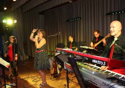Pfarrball Linz St. Konrad mit Partyband Voices And Music