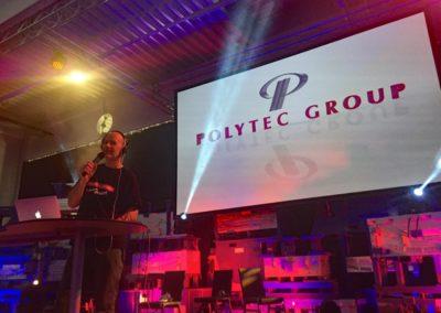 Party DJ und Liveband bei Firmenfeier von POLYTEC GROUP Hörsching, Voices And Music