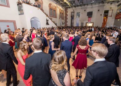 HTL HAK Abschlussball Freistadt Mühlviertel, Tänzer und Tanzband Voices And Music