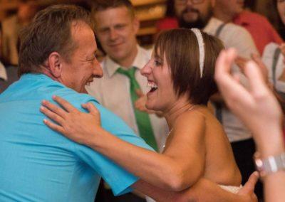 Spaß bei der Hochzeitsfeier mit Musiker für Hochzeit