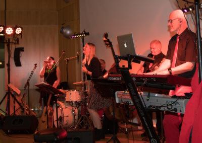 Quintett voices and music bei hochzeitsfeier in Linz
