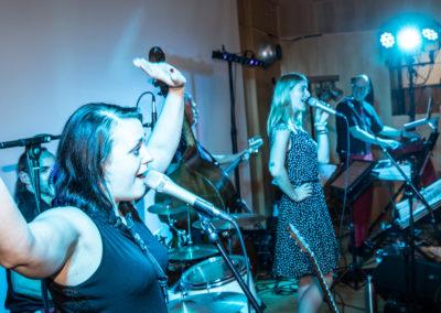 Voices-And-Music-Tanzband Hochzeit, Scheinwerfer musiker