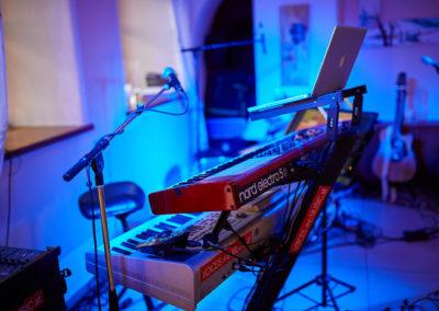 Hochzeitsband Keyboard Sax