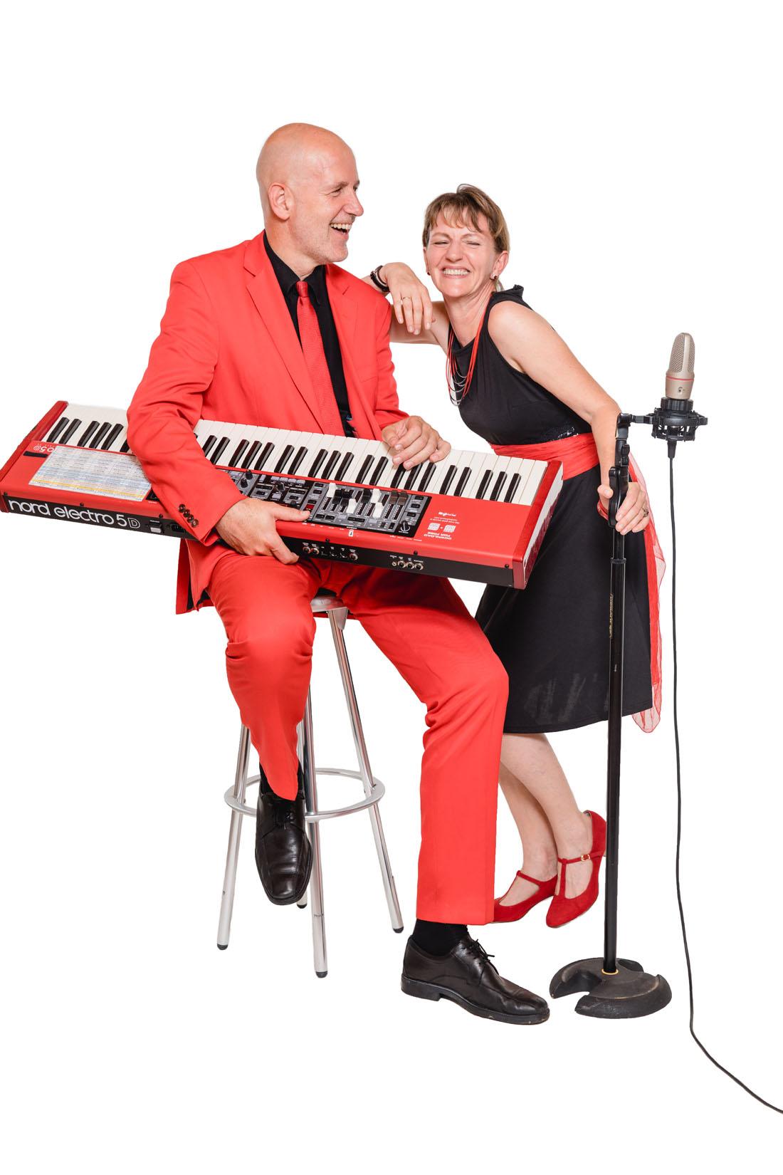 duo sängerin, keyboard musiker