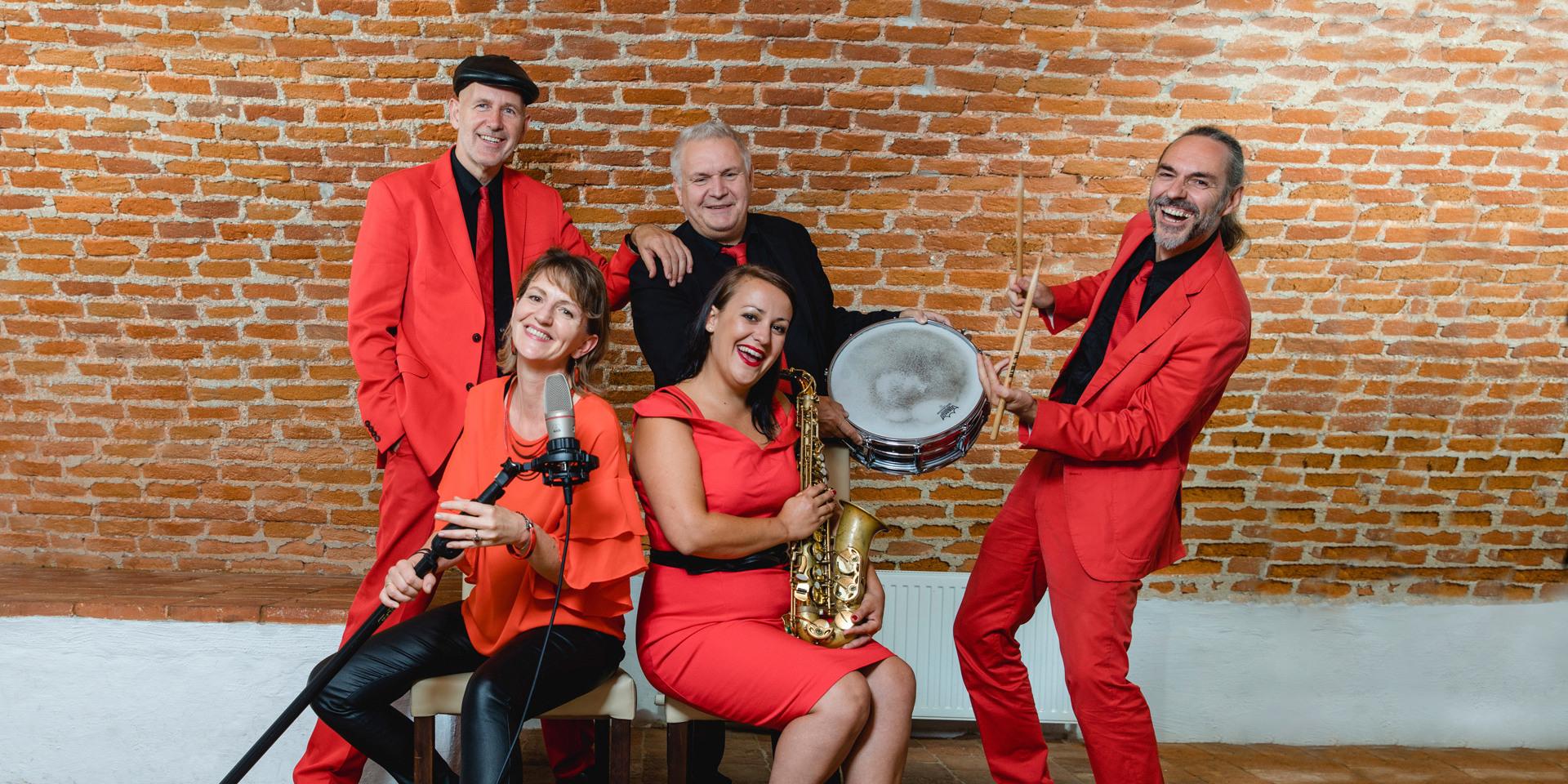 Hochzeitsband Voices And Music im Quintett, Tanzmusik Oberösterreich Tanzband Partyband