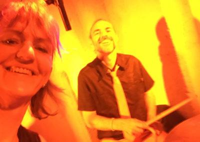 sängerin, Schlagzeug Spieler von Voices And Music , Elisabeth Baumgartner, othmar hametner, hochzeitsband