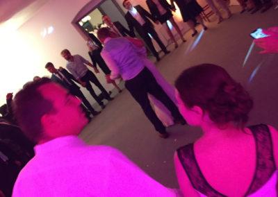 Eröffnungstanz mit Voices And Music, Brautpaar, Hochzeitsgäste,