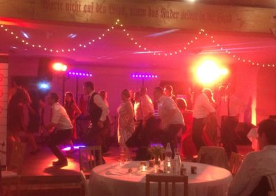 Hochzeitsfeier mit Hochzeitsband Voices And Music