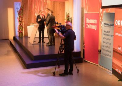 ORF Innovationspreis mit Kamera