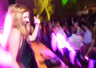 Tänzerin auf Bühne beim JKU-Ball, Voices And Music in Linz OÖ