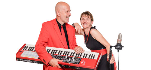 Voices And Music - Duo Sängerin und Keyboard
