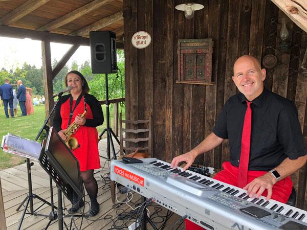Musik bei der Agape, Hochzeitsmusik, Musiker Hochzeit Kirche Trauung Standesamt Feier, OÖ
