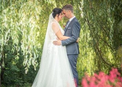 Fotoshooting mit Brautpaar - Hochzeitsmusik Voices And Music