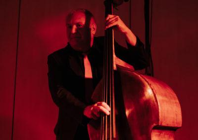Cooler Kontrabass bei Loungemusik, Oldies und Tanzmusik, Voices And Music