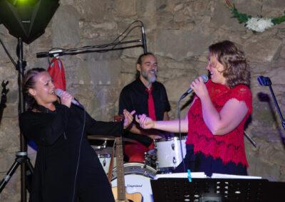Tanzband - Partyband mit 2 Sängerinnen und Liveschlagzeug